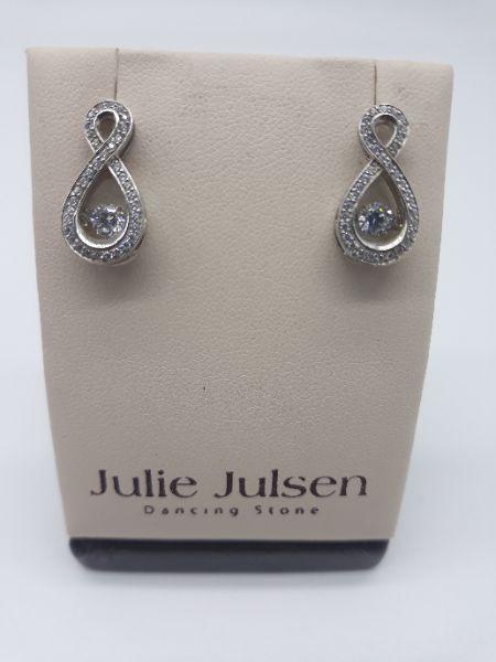 Orecchini Dancing Stone by Julie Julsen con zirconi in argento 925   GIOIELLERIA BRUNI Imperia