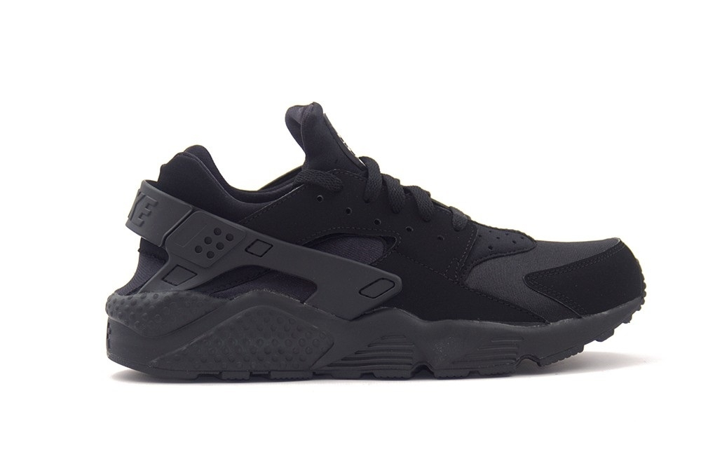 SNEAKERS NIKE AIR HUARACHE 318429-003 BLACK/BLACK-WHITE
