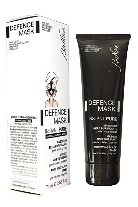 Bionike Defence Mask Instant Pure Maschera Nera Purificante pelle mista e grassa