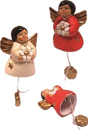 Angioletto campanella colorato cm. 7