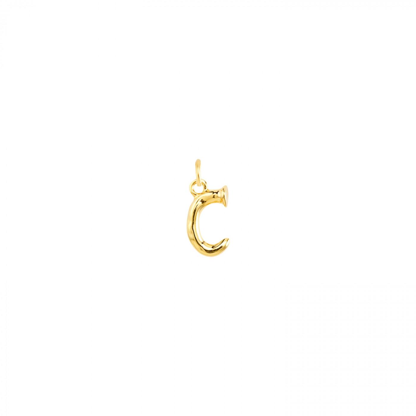 ALFABETO - C GOLD PICCOLA