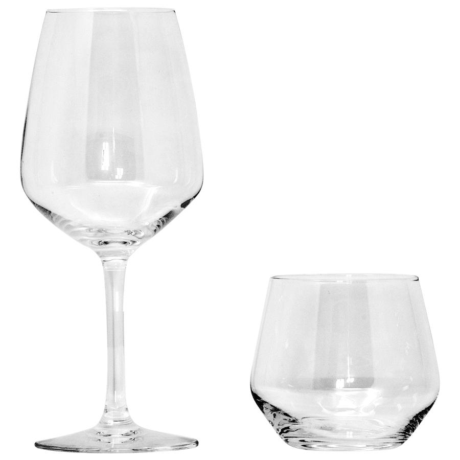 Set Bicchieri  Juliette Vino + Omaggio Acqua (24PZ)