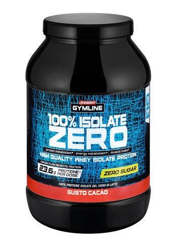 Gymline proteine 100% Isolate Zero zuccheri gusto cacao 900 g