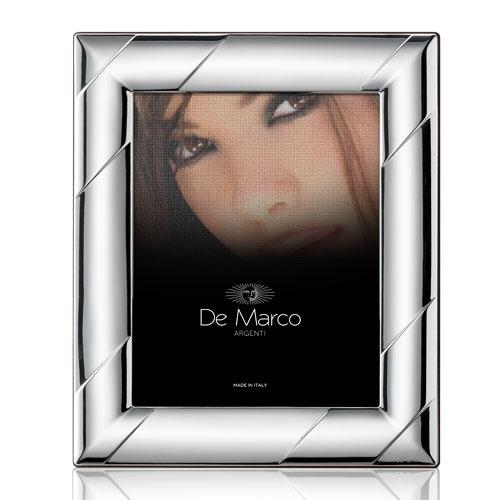 Cornice portafoto in argento bilaminato per foto
