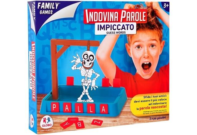 FAMILYGAMES GIOCO DELL.IMPICCATO 34635 GLOBO