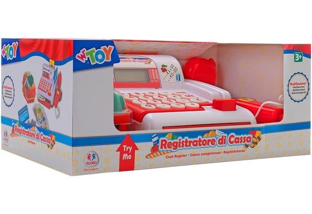 REGISTRATORE CASSA CON SCANNER 36658 GLOBO
