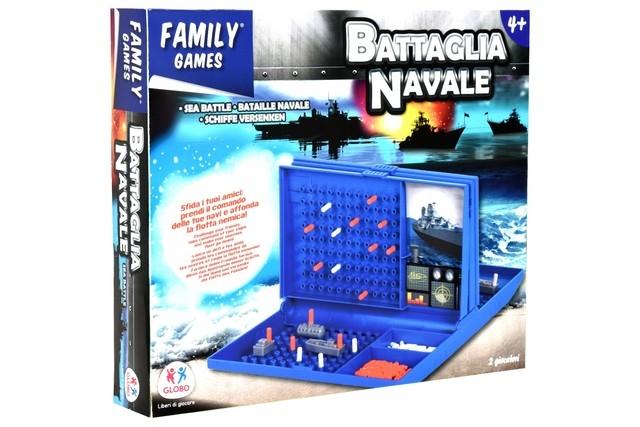 GIOCO BATTAGLIA NAVALE 36627 GLOBO