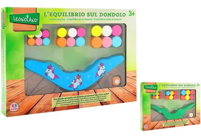 DONDOLO EQUILIBRIO LEGNO 38917 GLOBO