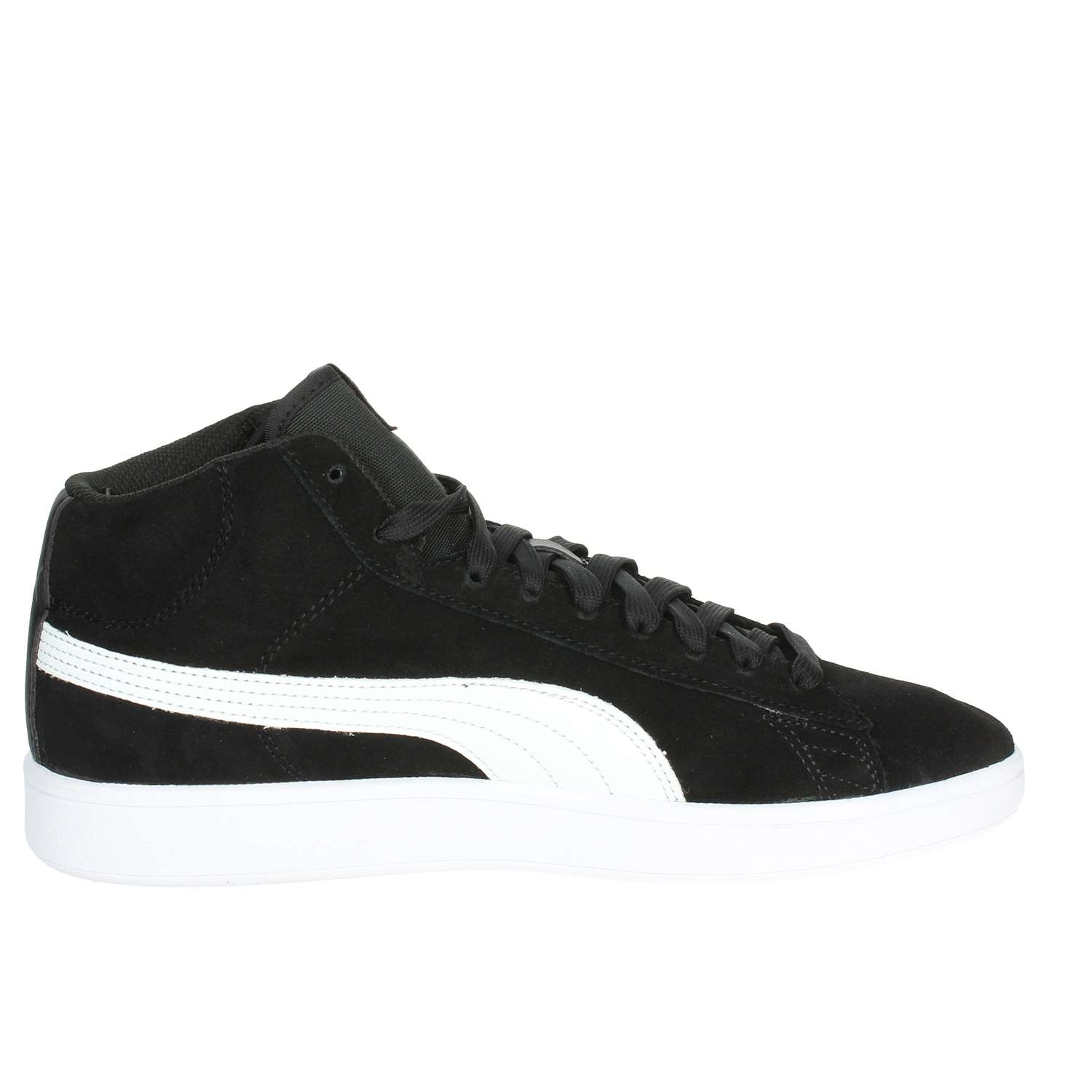 SNEAKERS PUMA SMASH V2 MID SD 366923-01 BLACK-WHITE