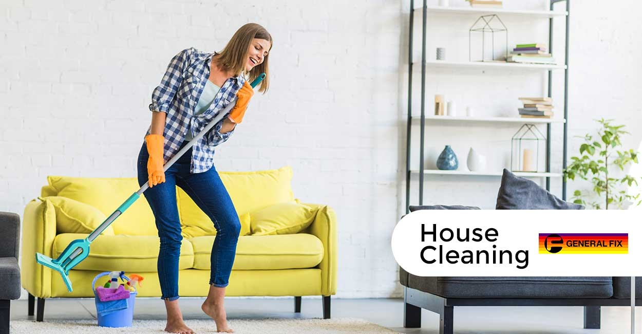 General fix house cleaning