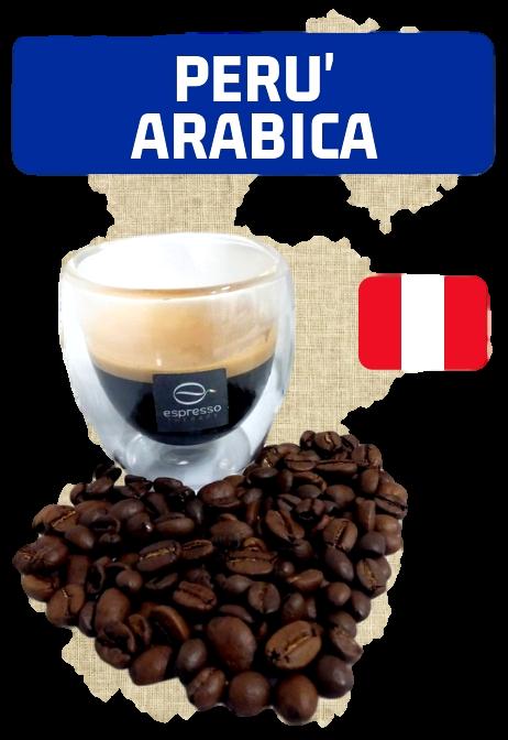 60 capsule compatibili nespresso monorigine Perù Arabica Lavata