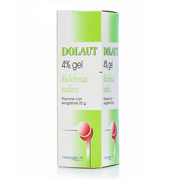 DOLAUT GEL FLACONE SPRAY DICLOFENAC 4%