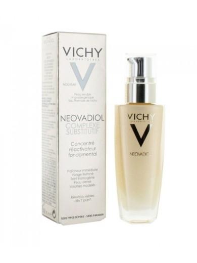 Vichy Neovadiol Complesso Sostitutivo Siero concentrato pelle fresca viso illuminato colorito omogeneo pelle ridensificata volumi ridefiniti