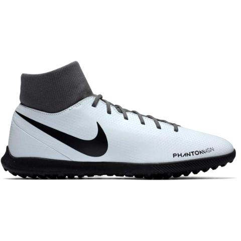 SCARPE NIKE PHANTOM VSN CLUB DF TF AO3273 060 PLATINUM/BLACK/RED