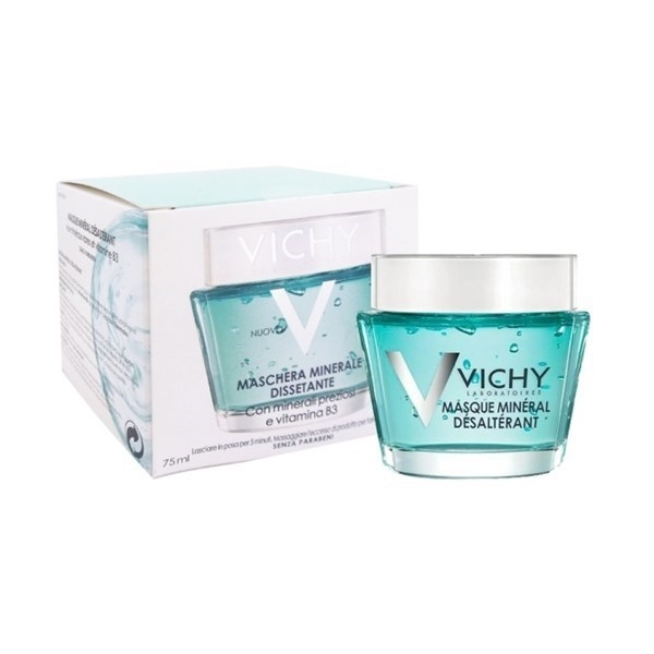 Vichy Maschera minerale dissetante con minerali preziosi e vitamina B3 75 ml