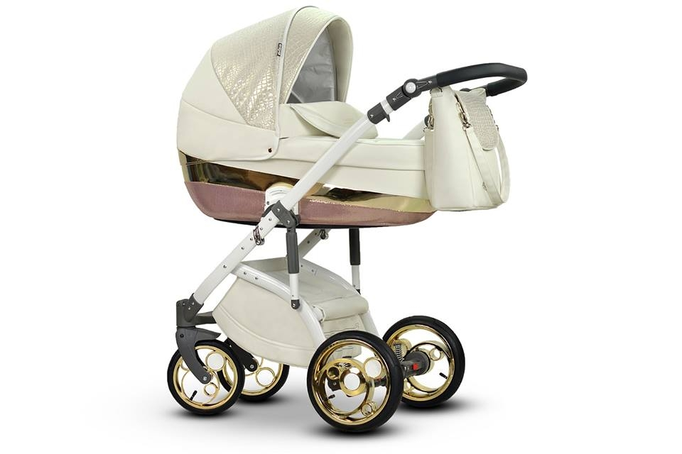 SISTEMA MODULARE 3 IN 1- moderno con ruote gonfiabili, ammortizzate - Top !
