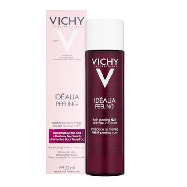 Vichy Idèalia Peeling trattamento rinnovatore Notte acido glicolico esfoliante leviga e uniforma