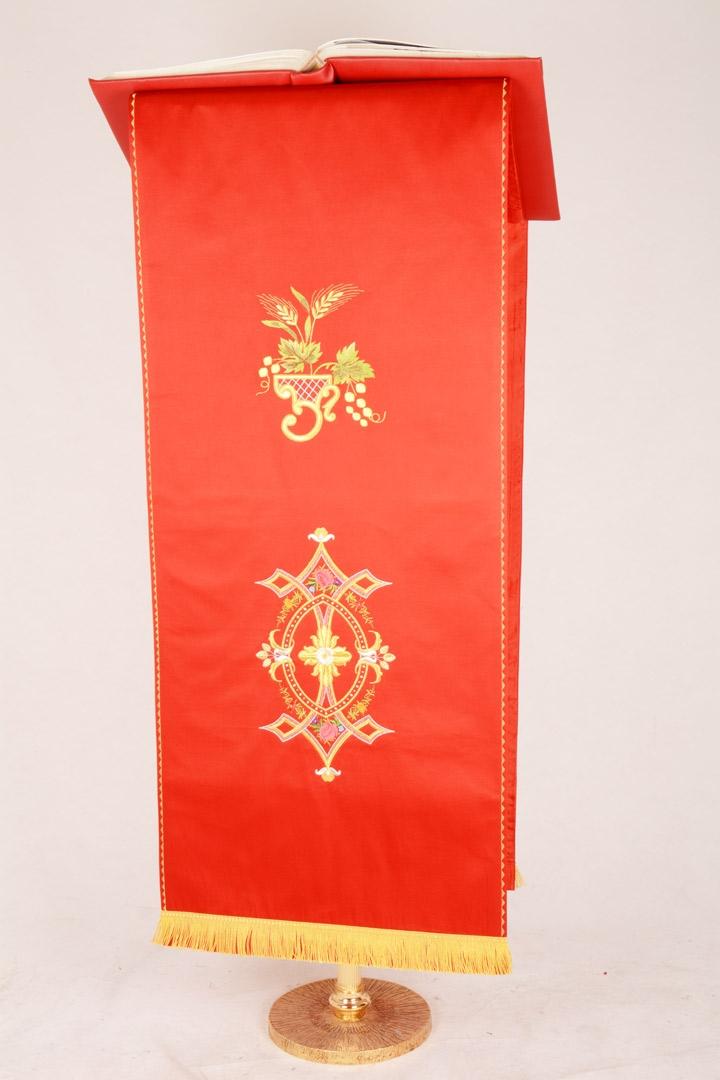 Copri Ambone 2 MA - Rosso - 50 x 260 cm