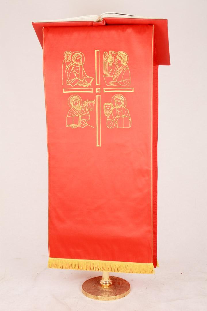 Copri Ambone 4 MA Evangelisti - Rosso - 50 x 260 cm