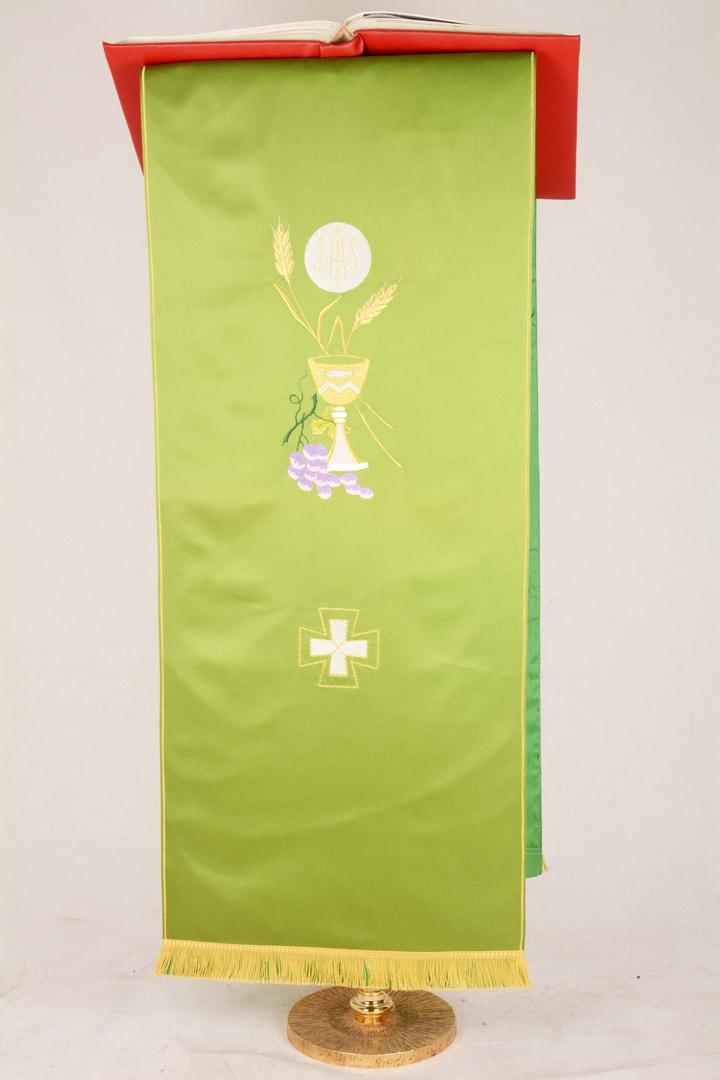 Copri Ambone 1 MA Eucarestia - Verde - 50 x 260 cm