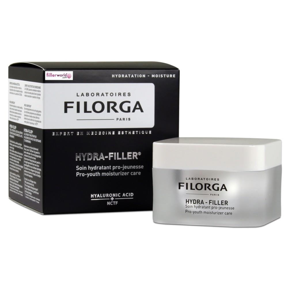 Filorga Hydra Filler Soin hydratant pro-jeunesse acido ialuronico + NCTF