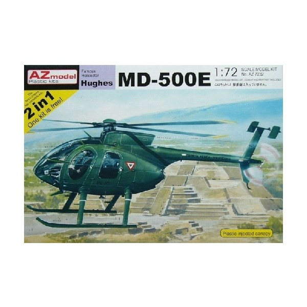 HUGHES MD-500E (7 DECAL VERSIONS) 2-IN-1