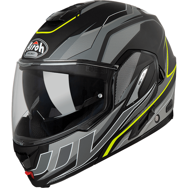 CASCO MOTO MODULARE AIROH REV19 2019 REVOLUTION ANTHRACITE MATT REV19R2