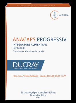 Ducray Anacaps Progressiv 30 compresse per capelli situazione persistente