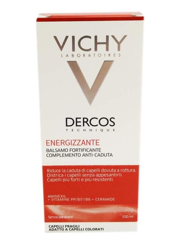 Vichy Dercos Balsamo Energizzante fortificante capelli fragili adatto a capelli colorati
