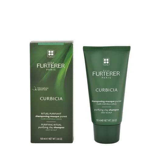 Rene Furterer Curbicia Shampoo maschera purificante cuoio capelluto grasso