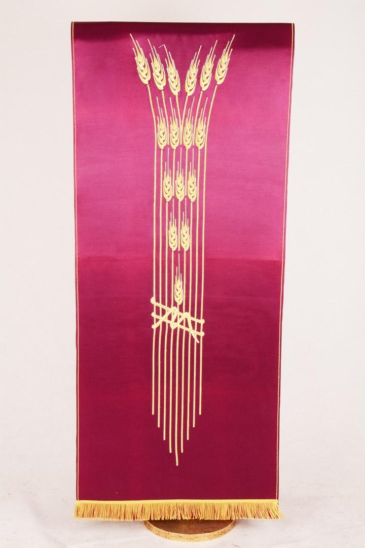 Copri Ambone 8 MA Covone Spighe - Morello - 50 x 260 cm