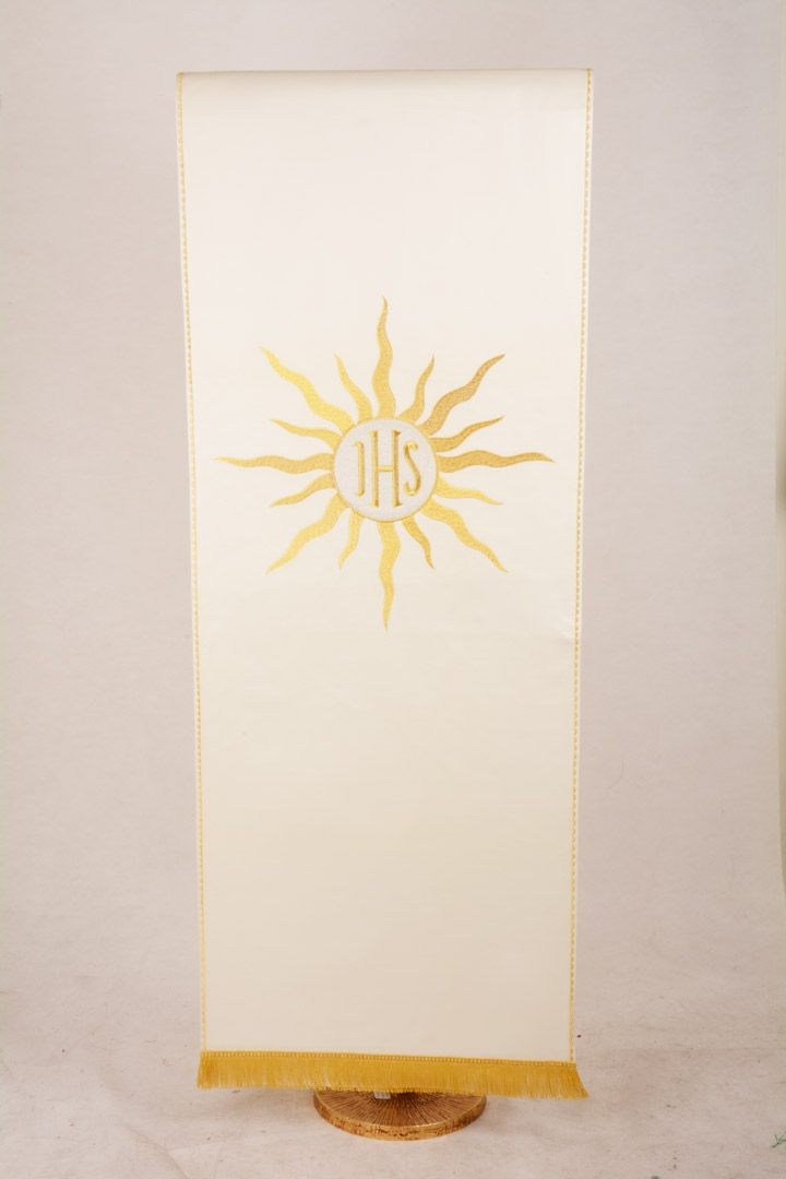 Copri Ambone 19 MA Raggiera Ostia - Bianco - 50 x 260 cm