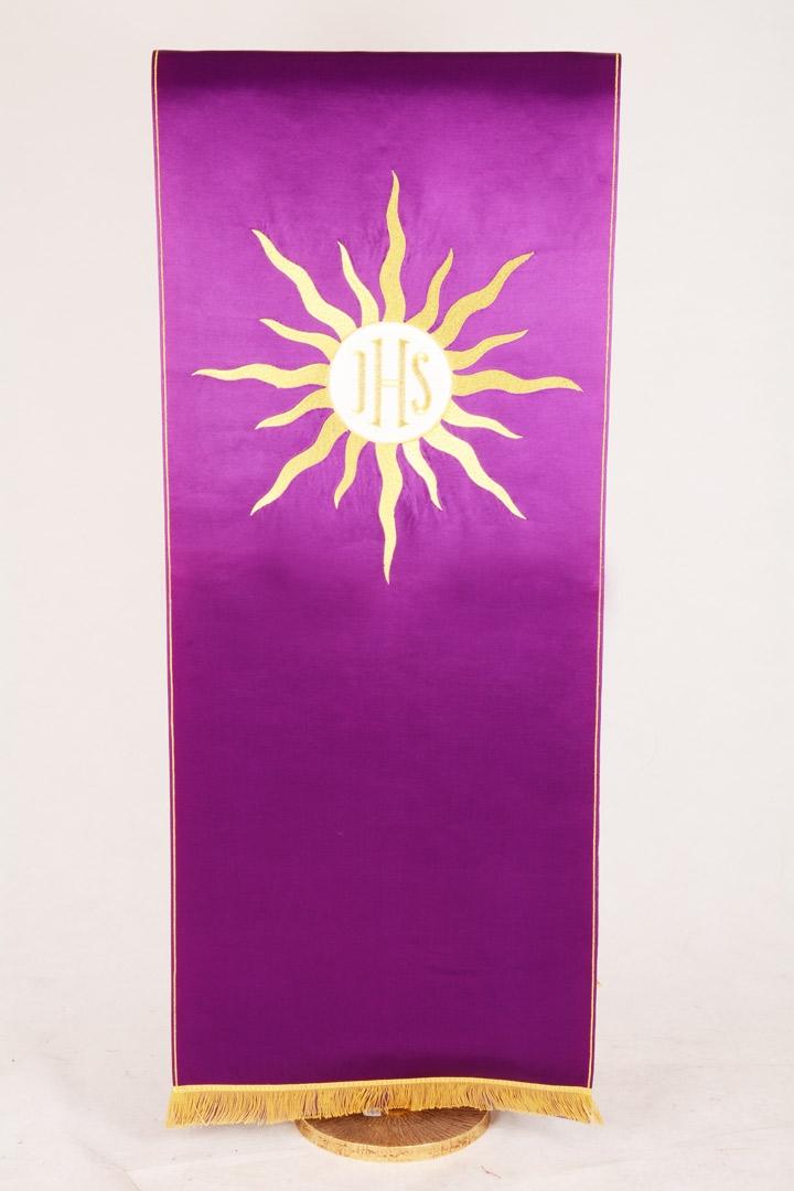 Copri Ambone 19 MA Raggiera Ostia - Viola - 50 x 260 cm