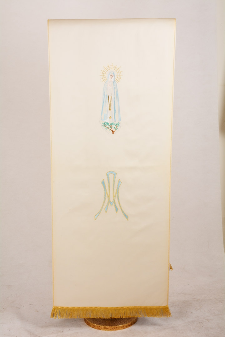 Copri Ambone 21 MA Madonna - Bianco - 50 x 260 cm