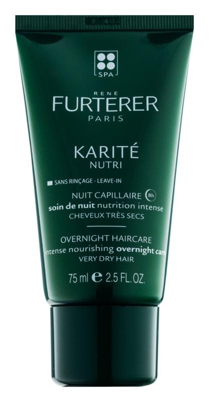 Renè Furterer Karitè Crema notte nutrizione intensa capelli molto secchi