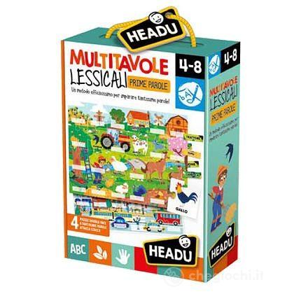 Montessori Multitavole Lessicali
