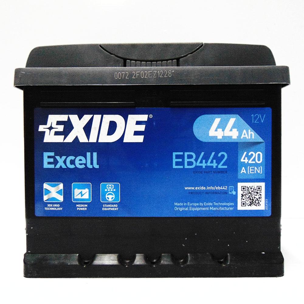 Batteria EXIDE 44Ah Dx - EB442
