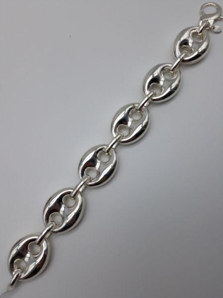 Bracciale donna in argento a maglia marinara, vendita on line | OROLOGERIA BRUNI Imperia