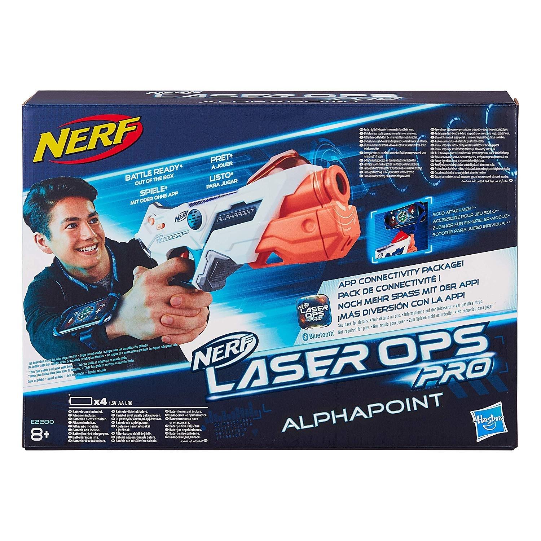 NERF LASER OPS SINGLE SHOT E2280 HASBRO EUROPA