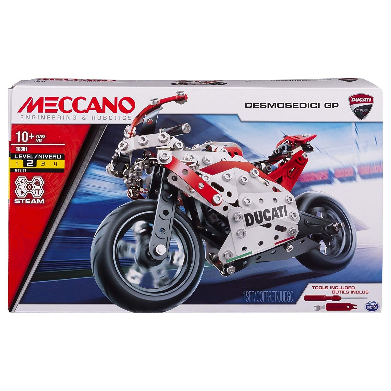 MECCANO DUCATI MOTO GP 6044539 SPIN MASTER new