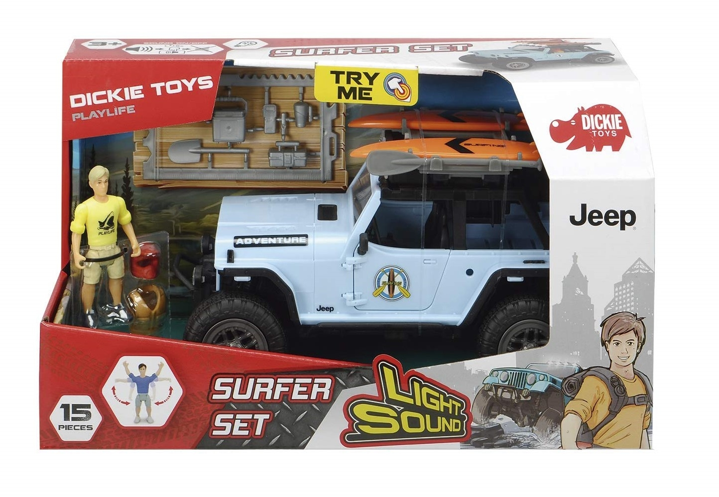 PLAYLIFE - SURFER SET 383-4001 SIMBA NEW