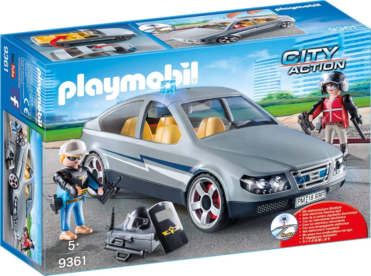 PLAYMOBIL AGENTI IN BORGHESE 9361 PLAYMOBIL