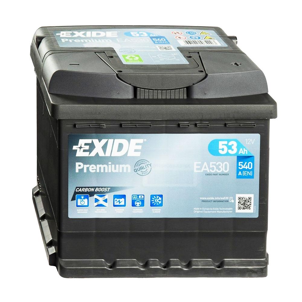 Batteria EXIDE 53Ah Dx - EA530