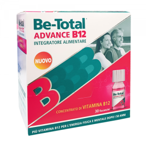 Be-Total Advance dopo i 50 anni vitamina  B12 integratore 30 flaconcini
