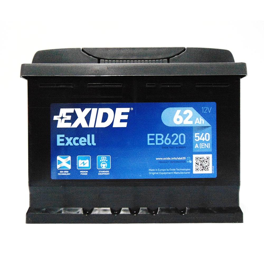 Batteria EXIDE 62Ah Dx - EB620