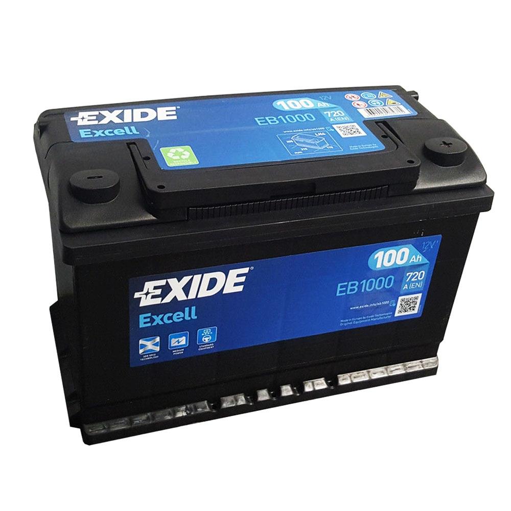 Batteria EXIDE 100Ah Dx - EB1000