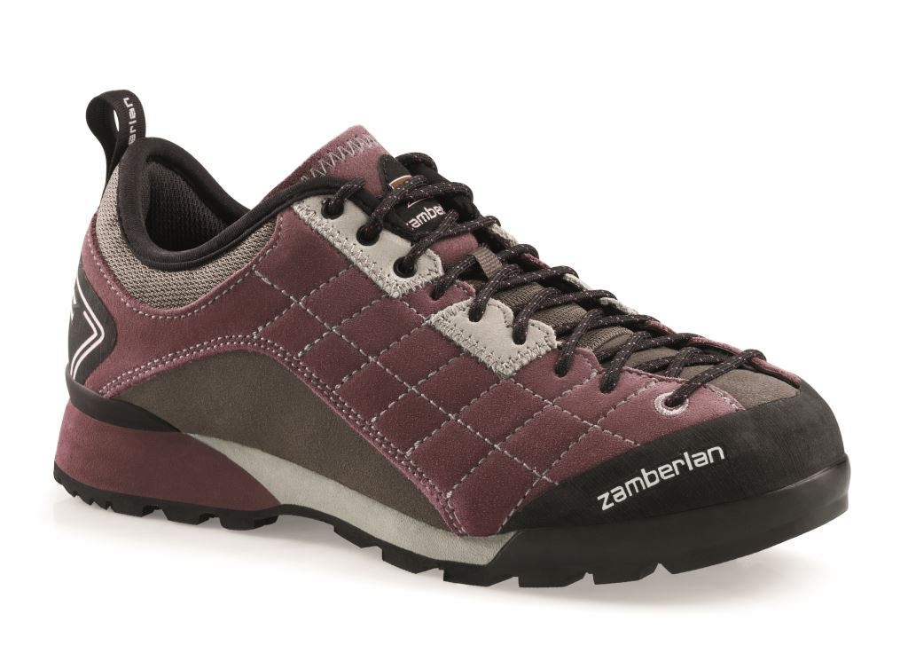 125 INTREPID RR WNS - Wine Chaussures Approche  pour les Femmes Zamberlan