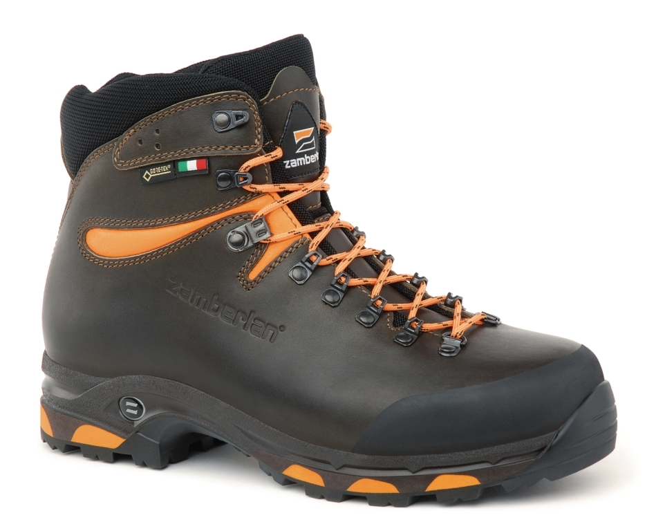 1022 JACKRABBIT GTX® RR WL - Botas de Caza - Dark Brown/Orange