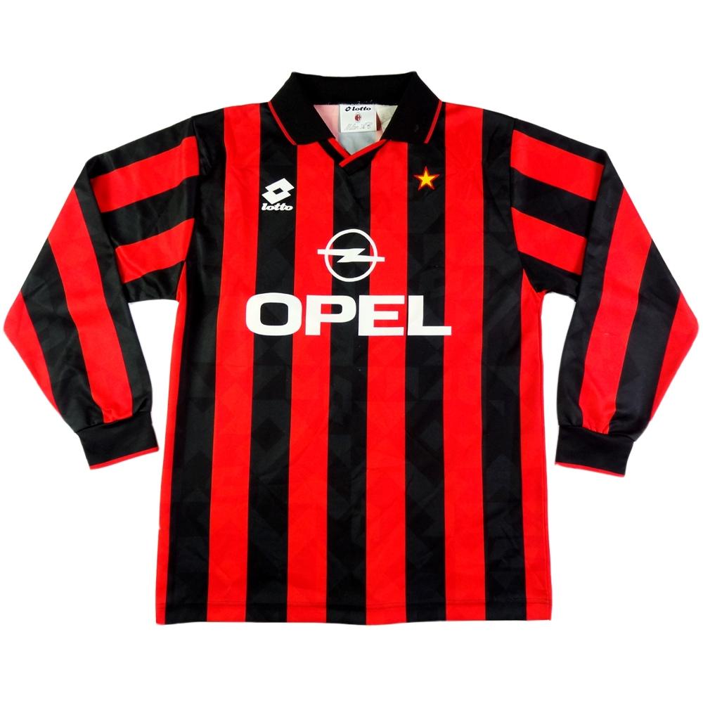 1994-95 AC Milan MAGLIA HOME L