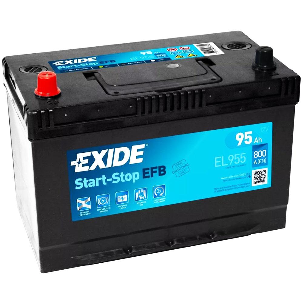 Batteria EXIDE 95Ah Sx - EL955